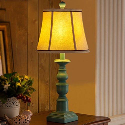 Bonne chose lampe de table Lampe de table américaine Lampe de nuit à la chambre à coucher Cuisine méditerranéenne Creative Retro Warm Warm Wedding Room Decoration Lamp
