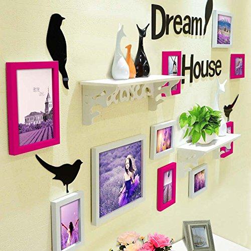 HJKY fotolijst, van hoge polymeer-materiaal, moderne eenvoud, originaliteit, foto's aan de muur, voor woonkamer, slaapkamer, trappen