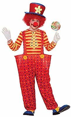 Forum Novelties Hoppy The Clown Boy's Costume