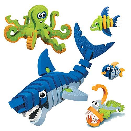 Bloco Zwierzeta Morskie: zestaw konstrukcyjny , color/modelo surtido