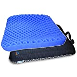 HANCHUAN Gel Seat Cushion Extra Firm & Thick Sitter Cushion with Honeycomb Egg
