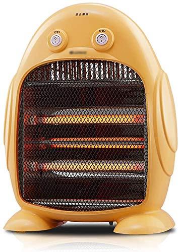 Mnjin Haushalts-Teng-Peng-Heizung - 800-W-Heizung für kleine Haushalte Energiesparender Stiller Büroschüler mit warmem, trockenem Badezimmerofen (Größe 43X32X15CM) (@ - @)