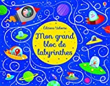 Mon grand bloc de labyrinthes (French Edition)