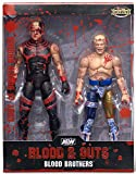 Ringside Blood Brothers (Cody Rhode & Dustin Rhodes) - AEW Collectibles Exclusive 2-Pack Jazwares Wicked Cool Toys Toy Wrestling Action Figures
