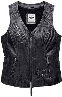 HARLEY-DAVIDSON Women's Dust Rider Leather Vest 98103-16VW