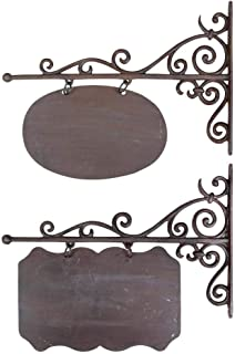 Esschert Design Wandschild, Namensschild, rechteckig oder ov