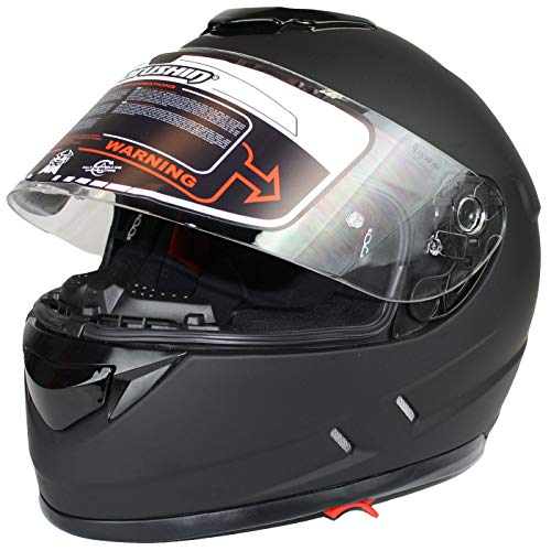 Marushin 889 Comfort Motorrad Helm Integralhelm Sonnenblende Tourenfahrer, L