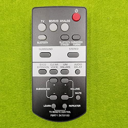 Davitu Remote Controls - Remote Control FSR71 ZK72120 for Yamaha YAS-203 YAS-203BL YAS-CU203 SoundBar system