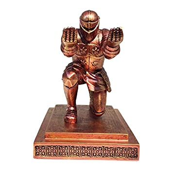 TBWHL Executive Knight Pen Holder with a Pen- Personalized Desk Accessory Pen Stand for A Gift - Decorative Pencil Holders Desk Organizer Red Base Glue Not Included