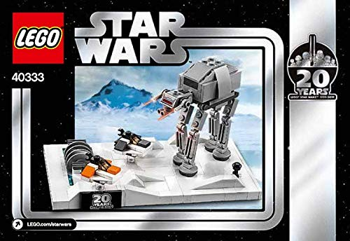 LEGO Starwars 40333 - 20 Jahre Sonderset - Mini Battle of Hoth