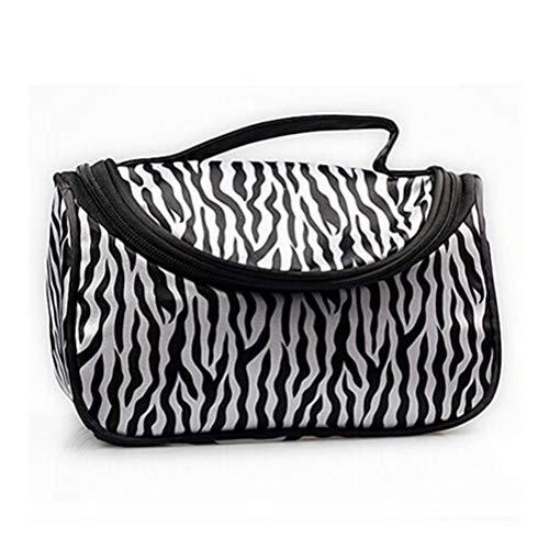 1PCS Voyage Portable Zebra Wash Stockage Sac de Toilette de Maquillage for Les Femmes