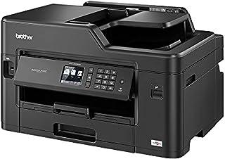 Brother MFC-J5335DW 4-i-1 multifunktionsfärg bläckstråleskrivare (skrivare, skanner, kopiera, faxa, 35 Sieter/min.) Svart