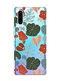 Oihxse Clair Case Compatible avec Samsung Galaxy J8 2018 Coque en Silicone Transparent Motif Fleur...