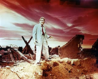 Erthstore 8x10 inch Photograph of The Twilight Zone Time Enough at Last Episode Season 1 Burgess Meredith