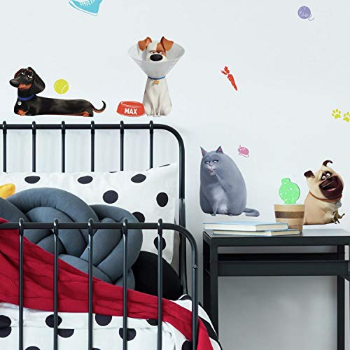 RoomMates Secret Life of Pets 2 Peel and Stick Wall Decals