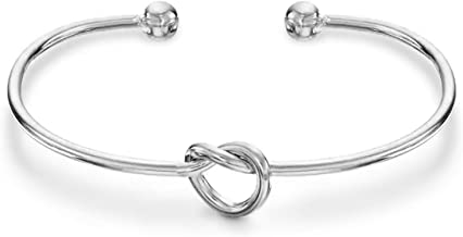 PAVOI 14K Gold Plated Forever Love Knot Infinity Bracelets for Women   Gold Bracelet for Women