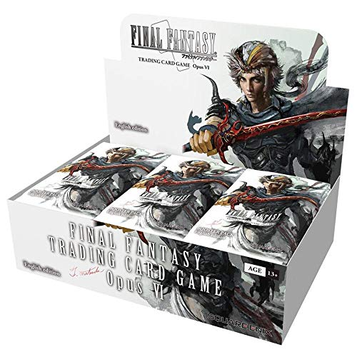 Final Fantasy TCG: Opus VI Collection Booster Display