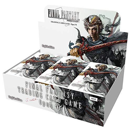 EPHIIONIY Final Fantasy TCG: Opus VI Collection Booster Display