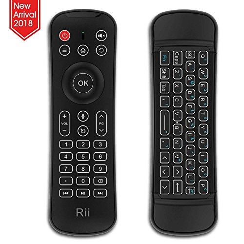 Rii MX6: Air Mouse 2.4Ghz retroiluminado