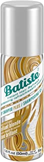 Batiste Dry Shampoo Brilliant Blonde Mini Travel Size 1.6 oz (Pack of 3)
