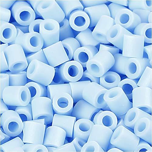 PhotoPearls, taille 5 x 5 mm, taille du trou 2,5 mm, bleu clair (28), 6000 pièces.