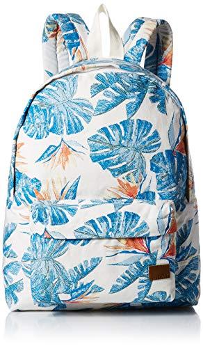 Roxy womens Sugar Baby Backpack, Bright White Mi, 1SZ
