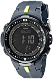 Casio Men's PRW-3000-2CR 'Protrek' Sport Watch with Black Resin Band