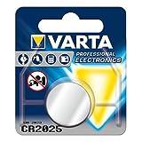VARTA Lithium Knopfzelle ´Professional Electronics´, CR2025, Menge: 2 Stück (Neuware)