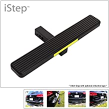 APS Aluminum Black 26in Rear Trailer Hitch Step Fits Class 3/4/5 Receiver Tube (Hitchstep   Roof Rack   Bumper Guard Prote...