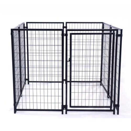 ALEKO DK5X5X4SQ Pet System DIY Box Kennel Dog...