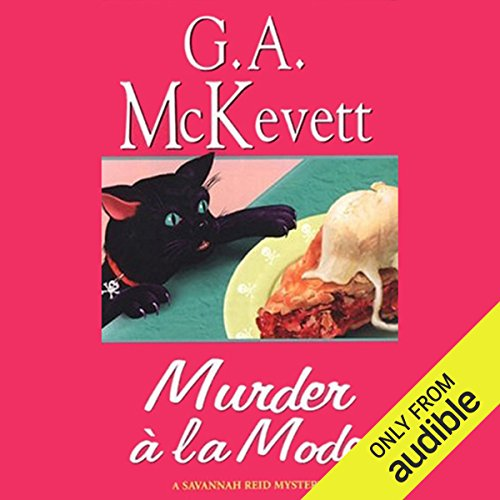 Murder a la Mode audiobook cover art