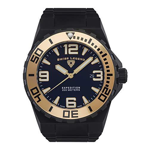 Swiss Legend Reloj Expedition SL-10008SM-BB-11
