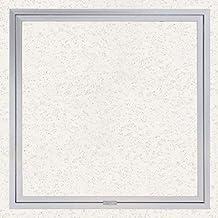 【ナカ工業】天井点検口 ハイハッチ 額縁タイプ スライド金具 (303×303, 標準 アルマイトシルバー)