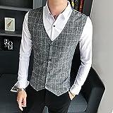 Camisa de Cuadros Plus Size Plaid Shirts Men ClothesLong Sleeve Fashion Spliced Design Slim Fit Casual Blouse Homme 5XL-M Asian5XL85-95KG White
