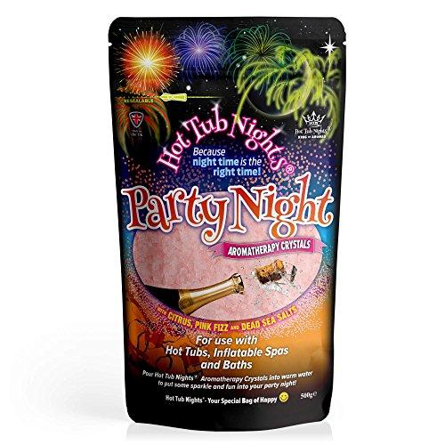 Jacuzzi Nights (Cristales de aromaterapia para Fiestas y Noches)