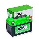 Batteria per motocicletta 12V, 8,5Ah, AGM agli Ioni di litio (tipo–MG10ZS / simile a YTZ10S)