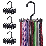 DIOMMELL 4 Pack Tie Rack Hanger...