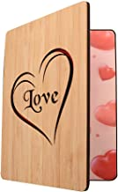 Real Bamboo Wooden Love Card - Happy Anniversary Card, Valentines Day Card,Mother's Day Card Father's Day Card, Birthday Card For Wife Or Her,OR Just Some One You Love