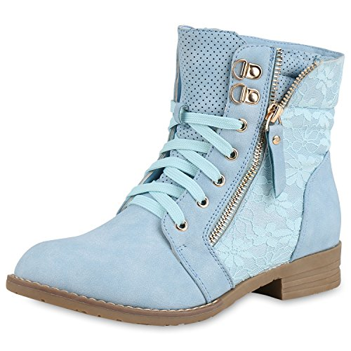 SCARPE VITA Dames Veters En Piek Laarzen Rits Worker Boot