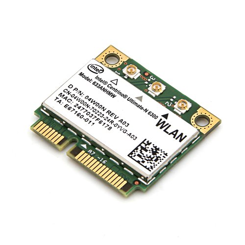 Intel 633AN.HMWWB Netzwerk Adapter (Ultimate N WiFi Link 6300 Dual Band 3x3 HMC)