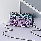Las mujeres Crossbody Bolsos de Moda Luminoso Hombro Cadena Holograma Carteras y Monedero de lujo bolsos de las mujeres bolsos de diseñador señoras COLOR5
