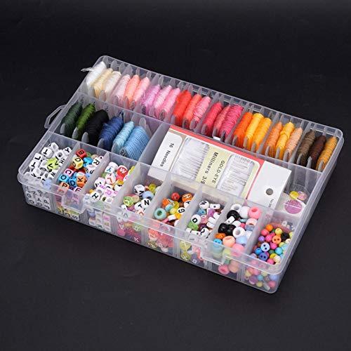 Juego de agujas de hilo de 851 piezas, 30 hilos coloridos y hermosos, para todas las ocasiones, incluidos Navidad y cumpleaños, suministros de costura premium