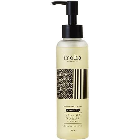 iroha デリケートゾーン専用ソープ インティメートウォッシュ モイスト フレッシュジャスミンの香り 保湿成分配合