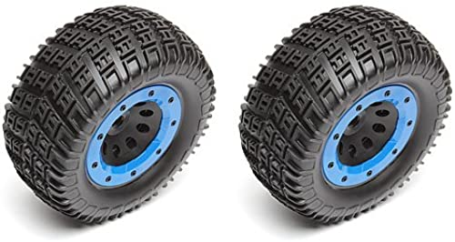 Team Associated AE25770 - RIVAL-MT Wheels Tires, mounted