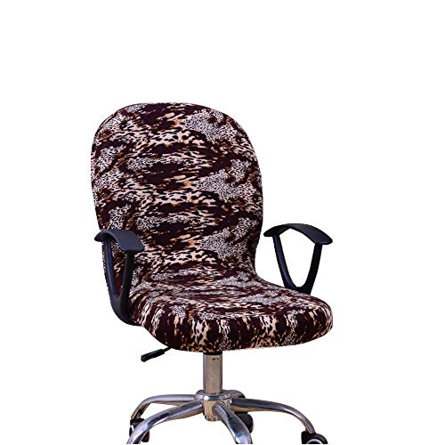 Isccdy Elastic Chair Cover Retractable Detachable Computer Office Swivel Chair Cover (G3)