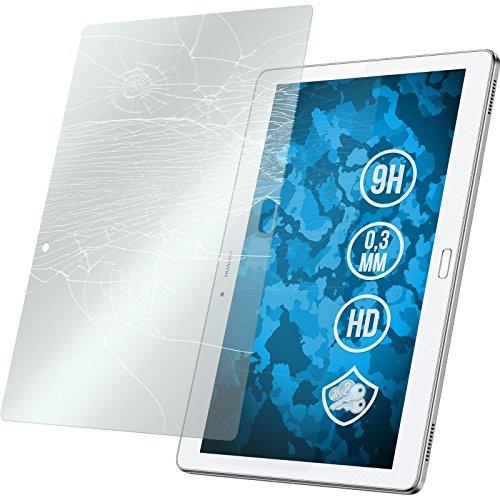 PhoneNatic 1 x Glas-Folie klar kompatibel mit Huawei MediaPad M2 10.0 - Panzerglas für MediaPad M2 10.0