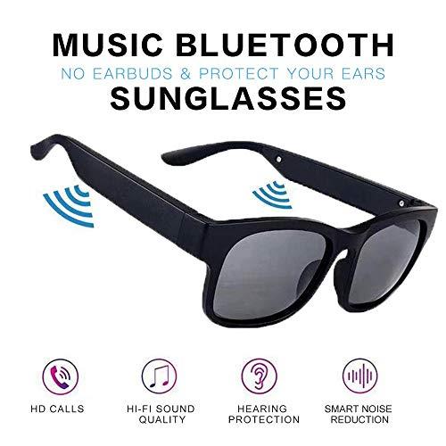 PUKEFNU Gafas De Sol Bluetooth Wireless Headset 5.0