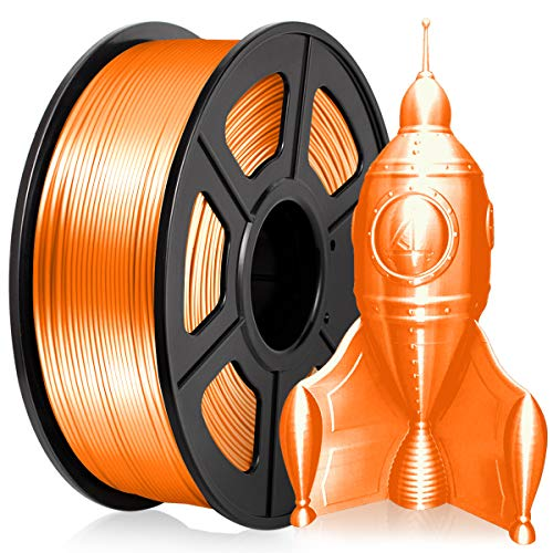 PLA 3D Printer Filament 1.75MM PLA Silk Filament 1KG for 3D Printer 3D Pen PLA Shiny Silky Sliver