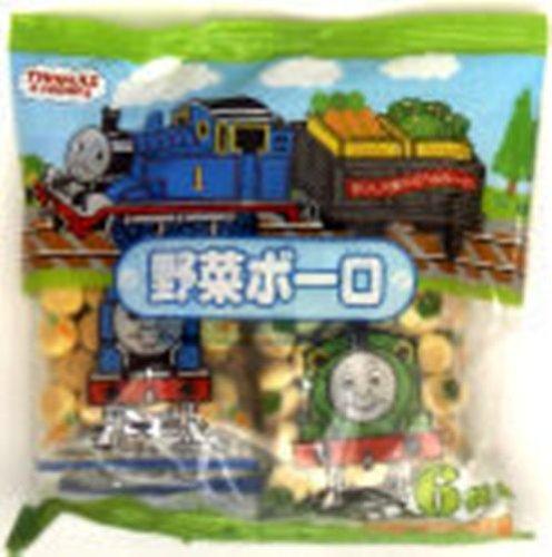 子供菓子 きかんしゃトーマス野菜ボーロ 15g×6袋×10個
