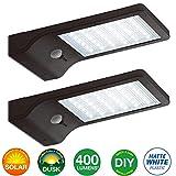LED Solar Motion Sensor Light Outdoor 2 Pack,...
